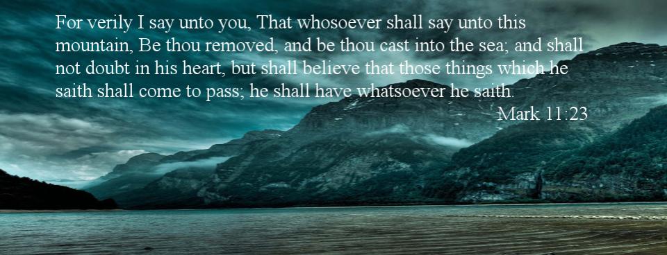 Be Thou Cast Into The Sea